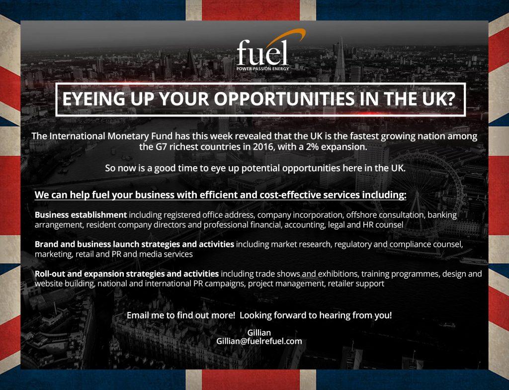 Fuel PR UK services pr gillian waddell