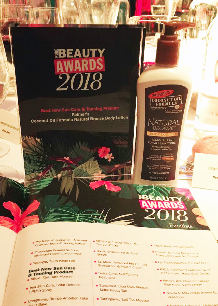 Fuel PR and Pure Beauty Awards 2018